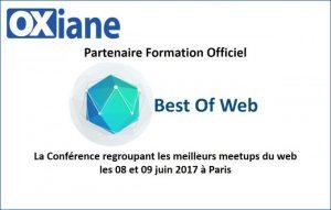 présentation conférence BestOfWeb 2017 - OXiane