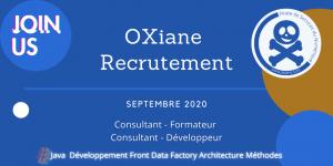 OXiane recrutement
